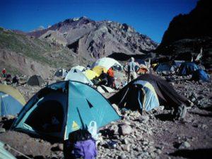 Campo base del Aconcagua