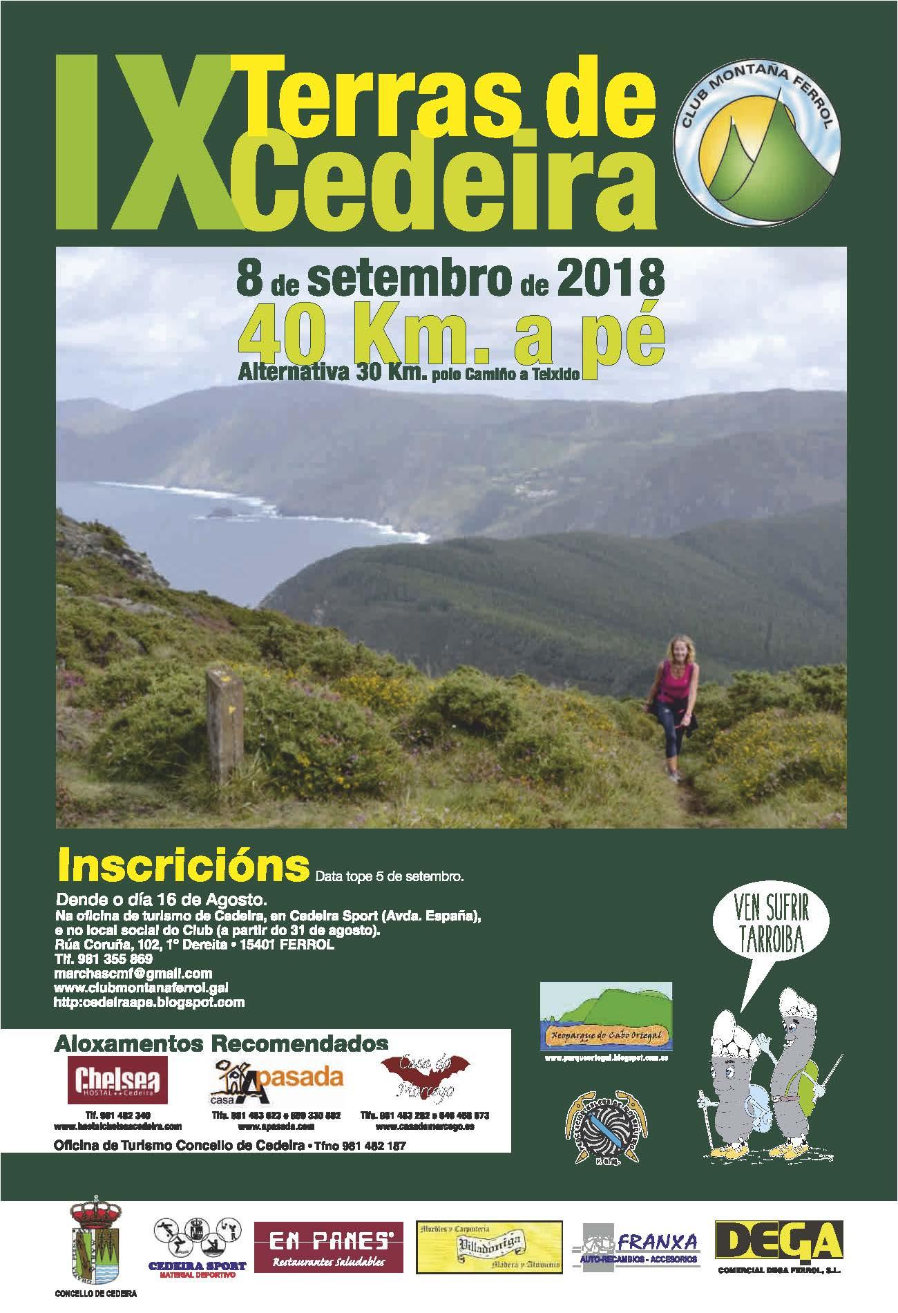 IX MARCHA TERRAS DE CEDEIRA 40 KM
