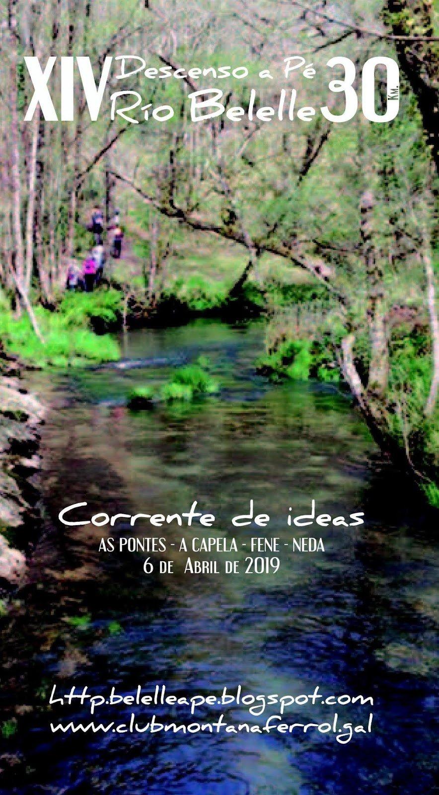 Sábado 6 de abril 2019 - 30 km a pé polos concellos de As Pontes, A Capela, Fene e Neda