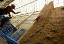 Iniciación á escalada en Rocódromo Abril