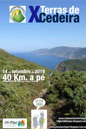 Sábado 14 de setembro de 2019 - 40 km a pé por Cedeira