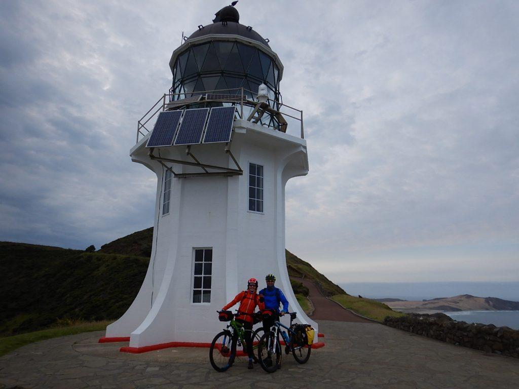 Cape Reinga, o punto máis septentrional de Nova Zelandia