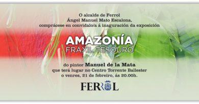 AMAZONÍA, FRÁXIL TESOURO